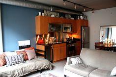 475 sq ft studio in Washington DC