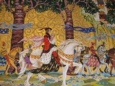 Mosaic from inside Cinderella's Castle, Magic Kingdom