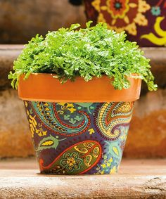 Loving this Global Garden Planter - Set of Two on #zulily! #zulilyfinds I could easily make this.