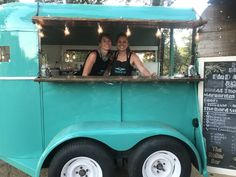 The Rollin' Bar is northern California's original horse trailer bar rental Truck Bed Trailer, Food Trailer, Coffee Carts, Coffee Truck, Converted Horse Trailer, Coffee Van, Coffee Stands, Concession Trailer, Mobile Bar