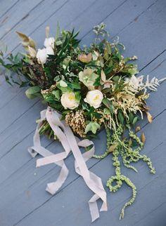 Neutral Garden Wedding Ideas via http://oncewed.com