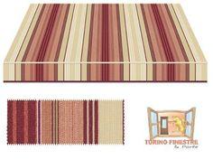 Tende da sole Tempotest Fantasia Rosso 5011/11