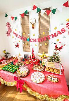 クリスマスパーティー フードコーナー演出 キッズパーティー演出 もっと見る