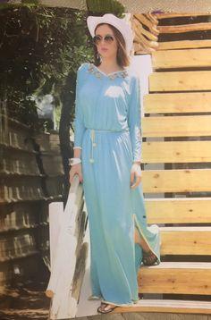 Robe Orientale, Kabyle, Traditionnel, Robe Longue, Longues, Patron, Mode  Femme c11ed09b315