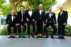 Silver Touch Event Planning: Sock it to the groomsmen