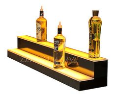 Lit bar shelf... maybe for wall too!?!?!?!