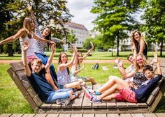 Tabara germana la Viena Salzburg, Badminton, Karaoke, Sun Lounger, Austria, Outdoor Decor, Vienna, Chaise Longue