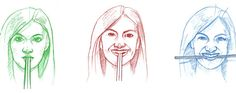Say Chopsticks: Holding the sticks in the mouth activates the same muscles we use for smiling.