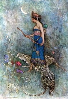 warwick goble #painting