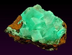 Calcite with Aurichalcite from Mexico