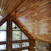 Custom tongue and groove wood paneling for walls and ceilings, tailored to the look & style you want. Pine paneling, cedar & many hardwood species.