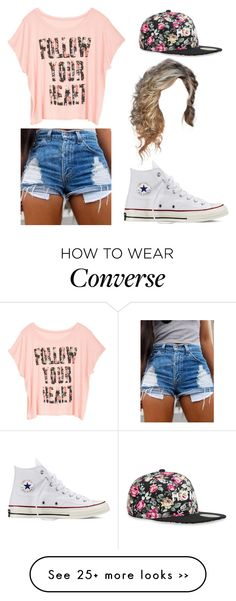 """Remember the way you made me feel"" by karlynboo on Polyvore featuring Alex and Chloe and Converse"