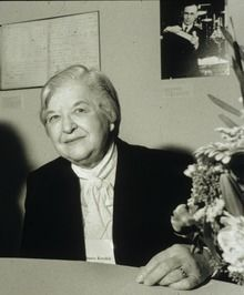 Stephanie Louise Kwolek (July 31, 1923 – June 18, 2014) was an American chemist, whose career at the DuPont company covered over forty years.[1] She is best known for inventing the first of a family of synthetic fibers of exceptional strength and stiffness: poly-paraphenylene terephthalamide—better known as Kevlar. https://en.wikipedia.org/wiki/Stephanie_Kwolek