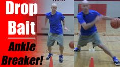 Basketball Moves: Drop Bait Crossover - Crossover Moves - How To Break A...