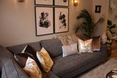 Living Room Living Area, Living Rooms, Asian Inspired Decor, Property Brothers, Hgtv, Decoration, Great Rooms, Paint Colors, Sweet Home