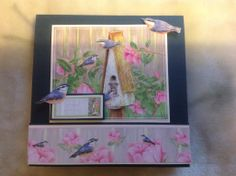 Jane Shasky card made from Joanna Sheens card pads so quick and easy