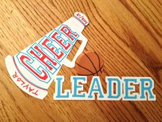 Idea for cheer locker decorations Cheerleading Locker Decorations, Cheer Decorations, Cheerleading Gifts, Cheer Treats, Cheer Gifts, Basketball Cheers, Football Cheer, Cheer Stuff, Cheer Mom