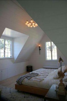 attic bedroom by HOH