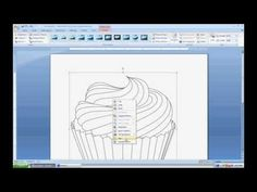 ▶ Preparing Digital Stamps for Printing using Word - YouTube
