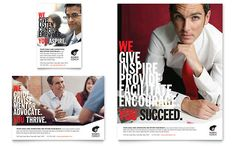 Business Executive Coach Flyer & Ad Template by @StockLayouts