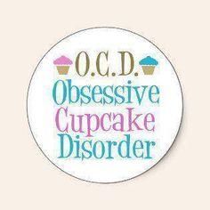 Obsessive Cupcake Disorder?   We prescribe www.cakeappreciat...