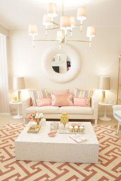 Home-Styling: 'MotherPearl' Living room for the Tv show *** Sala em Madre Pérola - Querido Mudei a Casa #1806