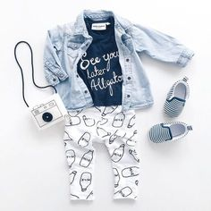 Cute and cool outfit for a little girl