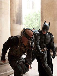 The Dark Knight Rises: Batman vs Bane