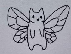 Mini Drawings, Art Drawings Sketches, Easy Drawings, Random Drawings, Mini Tattoos, Cute Tattoos, Small Tattoos, Tatoos, Hippie Painting