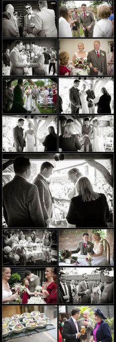 Informal reportage wedding photography at The Winter Barns Canterbury