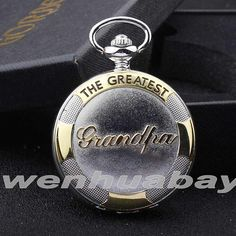Chain Pendant Pocket Watch