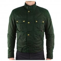Iconic Belstaff jacket in world-leading wax cotton. An absolute classic. Buy the BELSTAFF MOJAVE BROOKLANDS WAX JACKET - BRITISH RACING GREEN at Urban Rider London