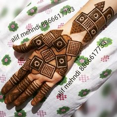 Indian Henna Designs, Henna Designs Feet, Mehndi Designs Book, Full Hand Mehndi Designs, Stylish Mehndi Designs, Mehndi Designs 2018, Mehndi Designs For Girls, Mehndi Design Pictures, Wedding Mehndi Designs