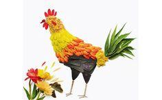 美しさに見惚れる - 花びらで作られた鳥のアート「Birds made of flowers」 − ISUTA(イスタ)オシャレを発信するニュースサイトISUTA(イスタ)オシャレを発信するニュースサイト