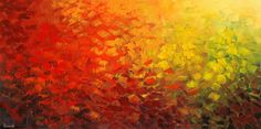 fall abstract landscape by Tatiana iliina