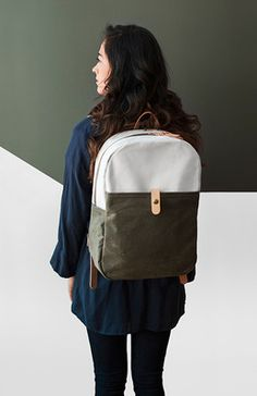 The minimal, modern backpack gets an update with three earth tone colorways