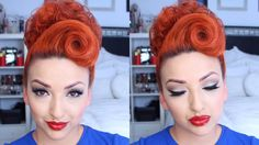 PERFECT SUMMER PINUP | HAIR TUTORIAL