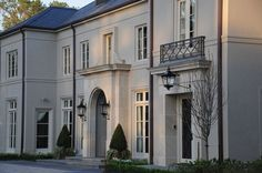New house exterior luxury architecture ideas Georgian Architecture, Classic Architecture, Ancient Architecture, Sustainable Architecture, House Architecture, Landscape Architecture, Style At Home, Mansion Homes, French Exterior