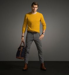 Andrew Cooper Models Looks from Massimo Duttis Fall 2014 Equestrian Collection image Andrew Cooper Massimo Dutti Equestrian Collection Fall ...