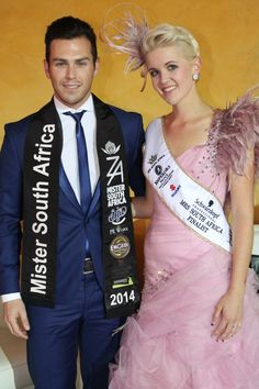 Mr South Africa Armand du Plessis and Mrs South Africa Finalist 2015 Anneke Nortje.