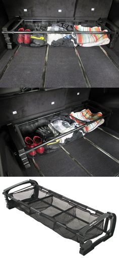 Versatile cargo holder that can be adjusted to fit your trunk and is compatible with the Subaru Outback Wagon. Car organization is a must while traveling!