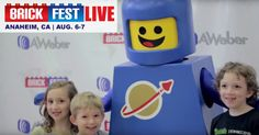 LEGO Fans: Brick Fest Live, a LEGO Fan Experience is coming to Anaheim CA, Aug 6-7. Check out brickfestlive.com for all the details!