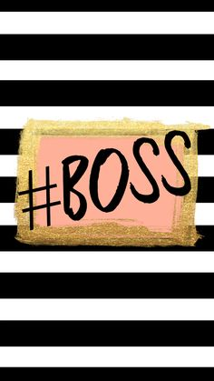 FREE tech wallpaper #BOSS from Glitter&Bow blog