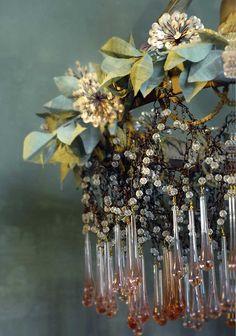 ❥ Bohemian chandelier