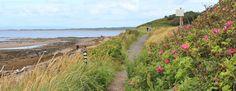 45 Ruth hiking the Ayrshire Coastal Path to Prestwick