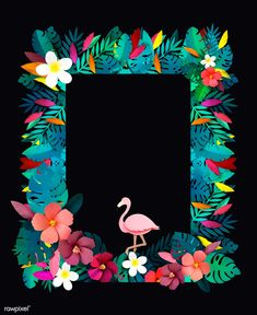 The Most Helpful Arts And Crafts Advice Flamingo Birthday, Luau Birthday, Birthday Party Themes, Diy And Crafts, Arts And Crafts, Paper Crafts, Flamingo Art, Tropical Party, Motif Floral