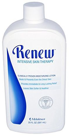 Melaleuca Renew Intensive Skin Therapy Lotion by Melaleuca - 20 oz. - Great Product for the Relief of Dry, Chapped Skin.