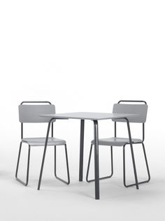 The Hill Dining Table. A clean and minimalist design, inspired by the Bauhaus era. A design by MADE Studio. £119. MADE.COM