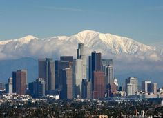 LA (yes, there are mountains with snow in SoCal in winter).