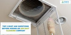 You have to ask these 3 questions when you are going to hire Air Duct Cleaning Company. How long have you been in operations? What does the quote include? What standards and equipment should be used? What If Questions, This Or That Questions, Duct Cleaning, Quote, Quotation, Qoutes, True Words, Quotes, Quotations